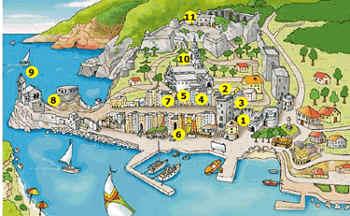 Porto Venere Tourist Itineraries